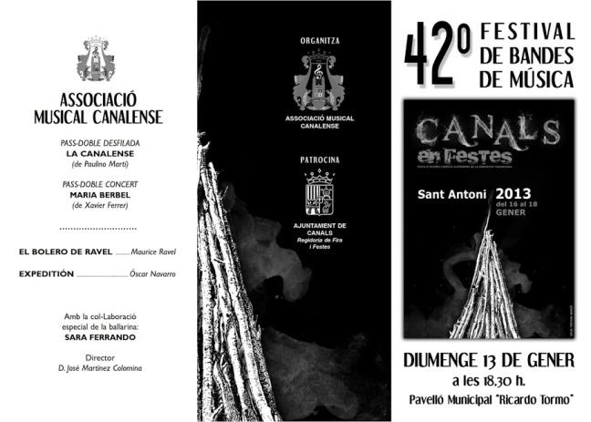 42 FESTIVAL BANDES SANT ANTONI 2013_001
