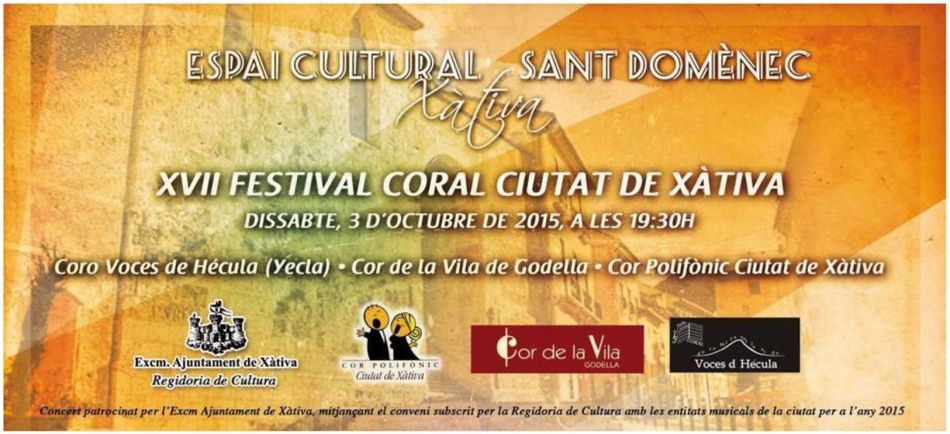 Cartell XVII Festival Coral